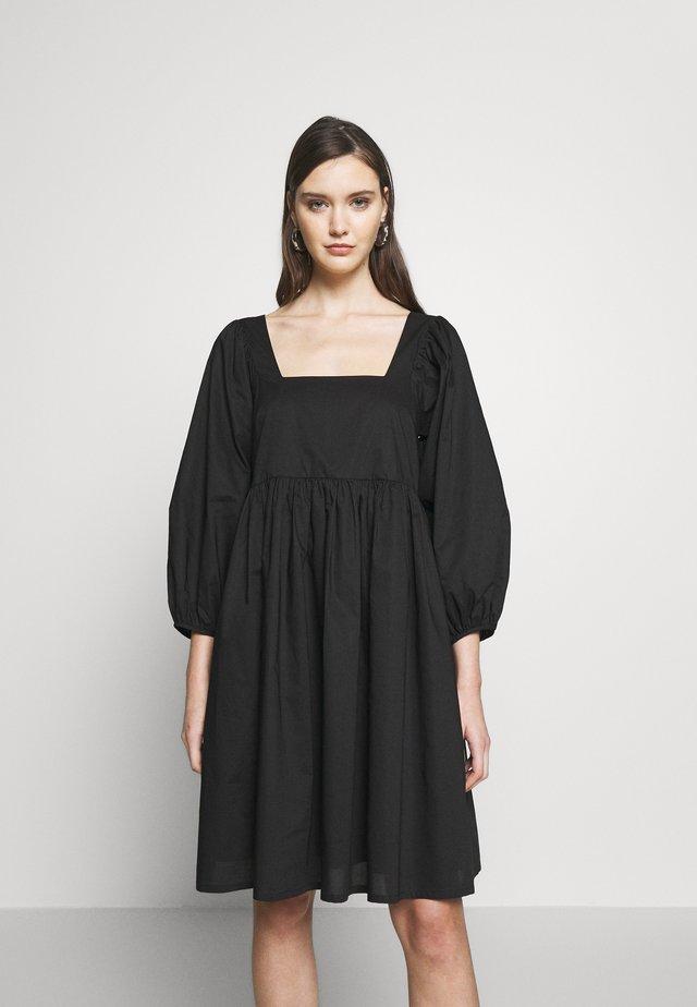 MERLE DRESS - Vestito estivo - black
