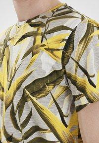 Blend - Print T-shirt - martini olive - 3
