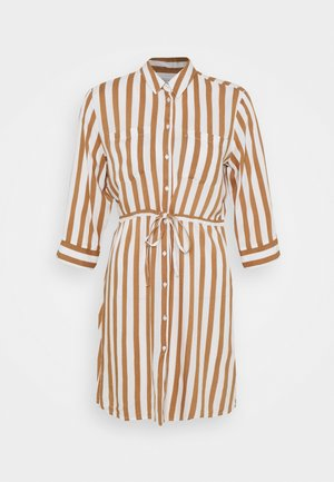 ONLTAMARI DRESS - Shirt dress - cloud dancer/beige