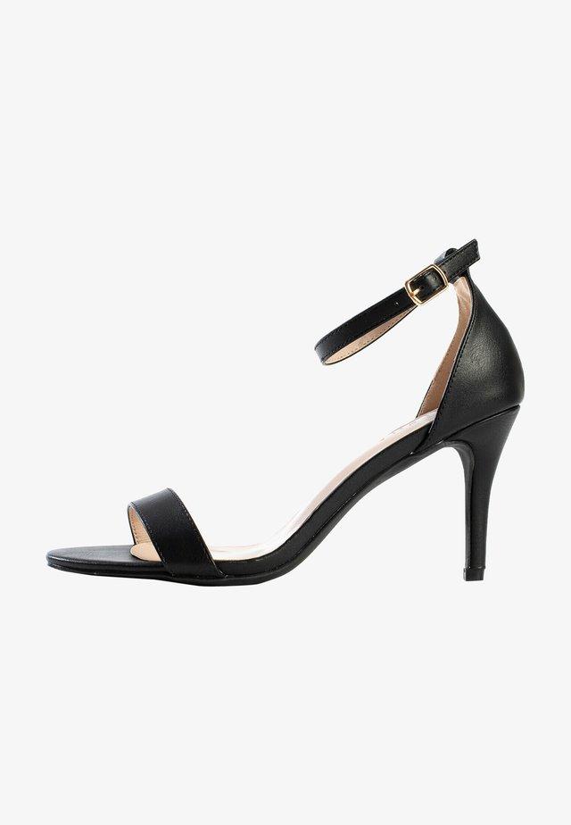 CELIA - Sandalen met hoge hak - black