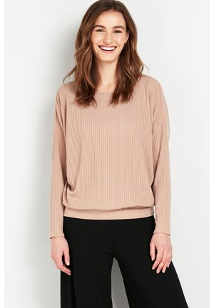 BATWING  - Long sleeved top - mottled light pink