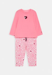 Tommy Hilfiger - BABY PRINTED SET - Trousers - pink - 0