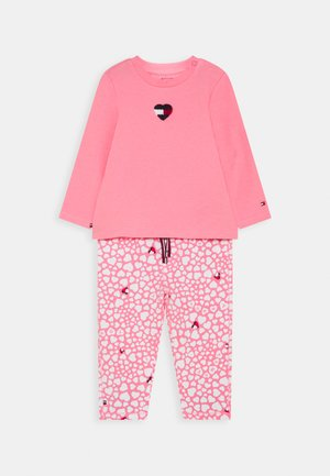 BABY PRINTED SET - Trousers - pink
