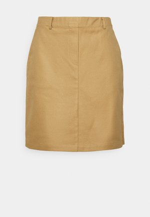 ELASTIC AT BACK - A-line skirt - sandy beach