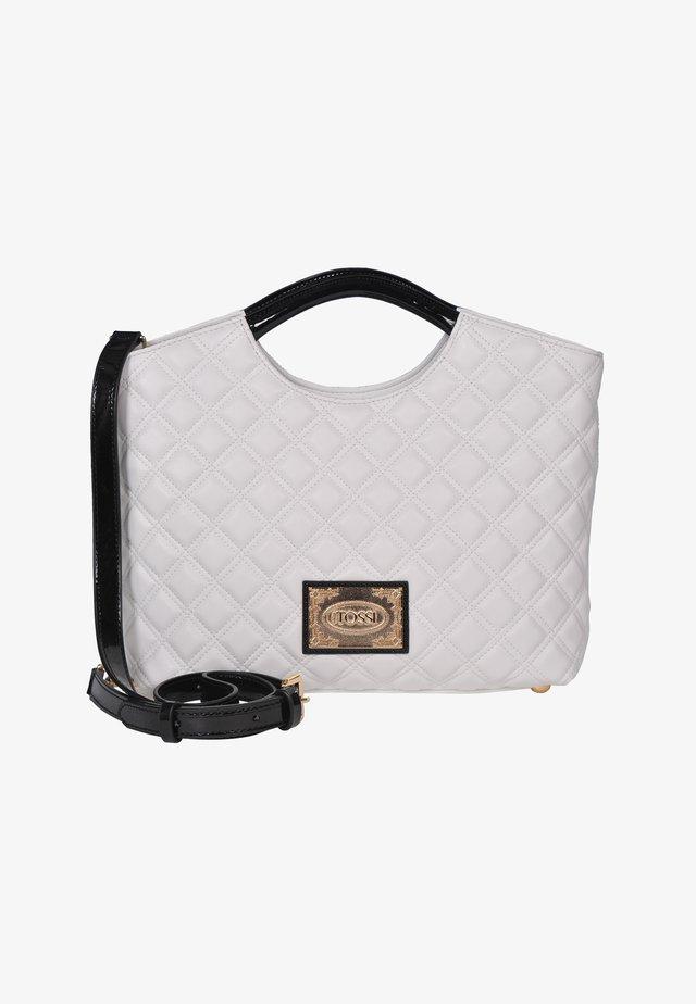 Handbag - weiss & schwarz
