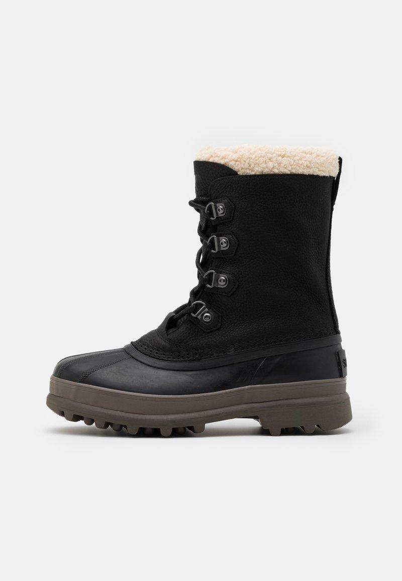 Sorel - CARIBOU STACK WP - Botas para la nieve - black