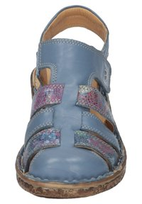 Comfortabel - Ankle strap ballet pumps - blau - 5