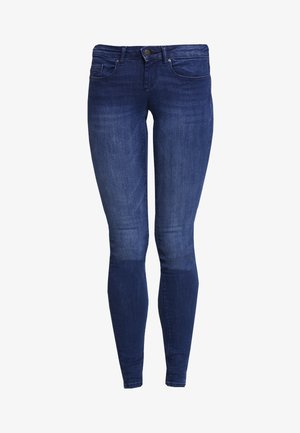 ONLFCORAL LOW - Jeans Skinny Fit - dark blue denim