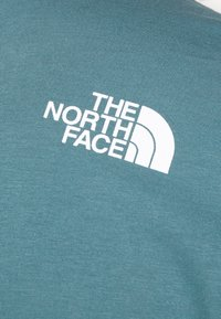 The North Face - MENS SIMPLE DOME TEE - Basic T-shirt - mallard blue - 5