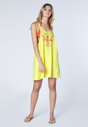 BONAVISTA WOMEN DRESS LOOSE FIT - Day dress - limelight