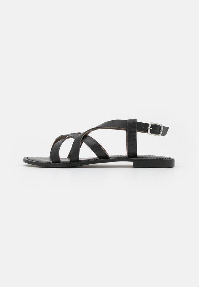VMTEALO - Sandals - black