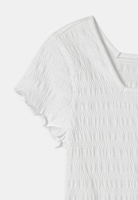 Abercrombie & Fitch - SMOCKED - Print T-shirt - white - 2