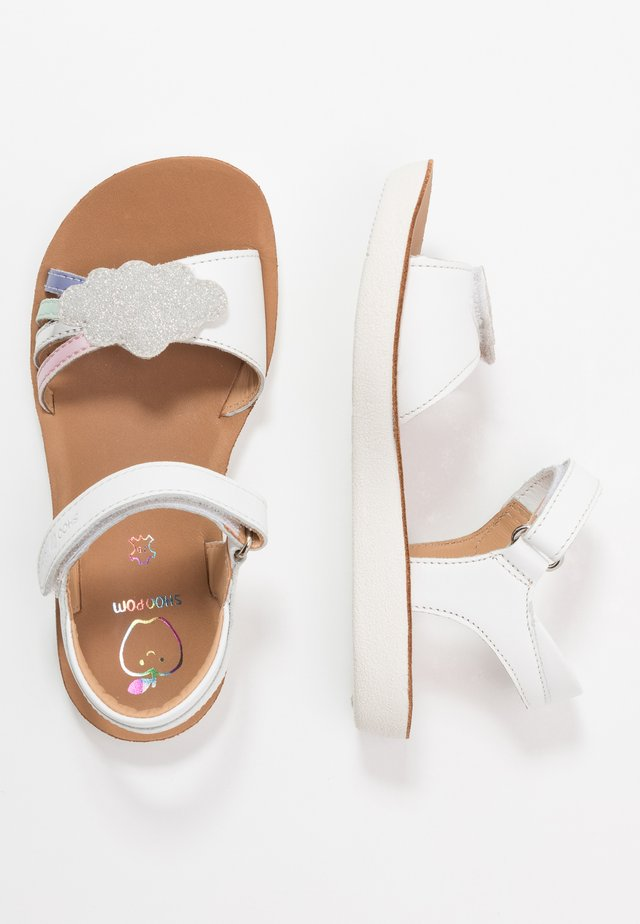 GOA - Sandaalit nilkkaremmillä - white/opale/multicolor