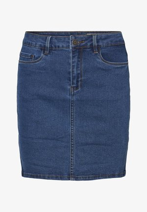 Denim skirt - medium blue denim