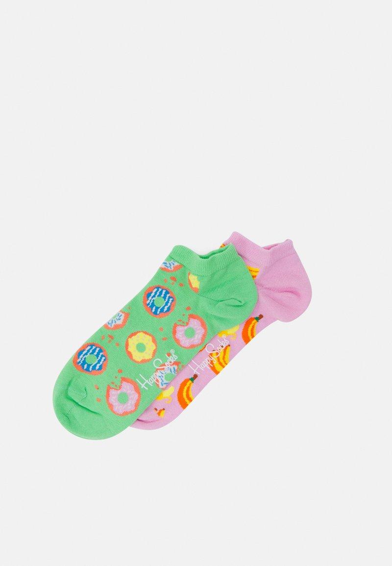 Happy Socks - SNACK LOW SOCK 2 PACK UNISEX - Trainer socks - multi