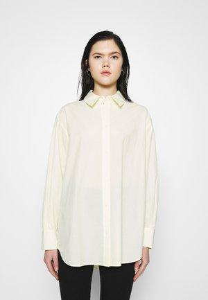 EDYN  - Button-down blouse - light yellow