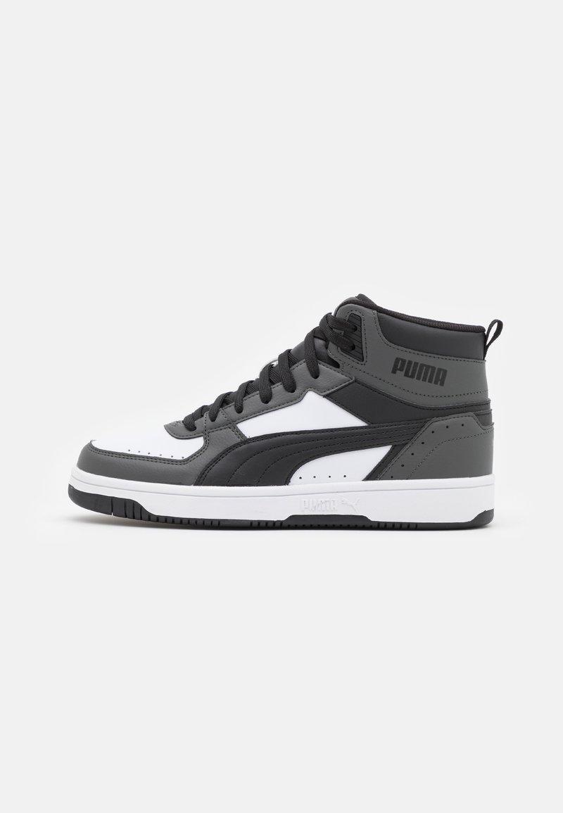 Puma - REBOUND JOY UNISEX - High-top trainers - dark shadow/black/white