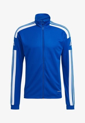 Trainingsjacke - blauweiss