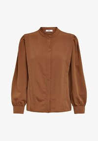 ONLY - Button-down blouse - tobacco brown - 5