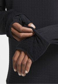 Nike Performance - SPHERE ELEMENT CREW 3.0 - Fleece jumper - black/black - 4