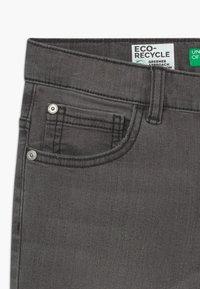 Benetton - Slim fit jeans - dark blue denim - 3