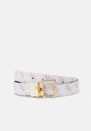 WASHINGTON PANT - Belt - white