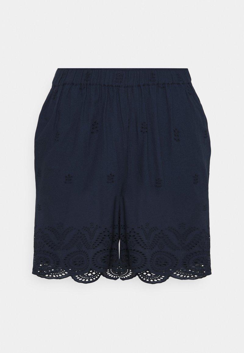 Zizzi - MALVA - Shorts - navy blazer