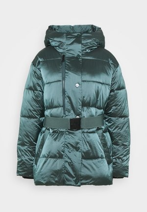 BELTED PUFFER - Trainingsjacke - blue