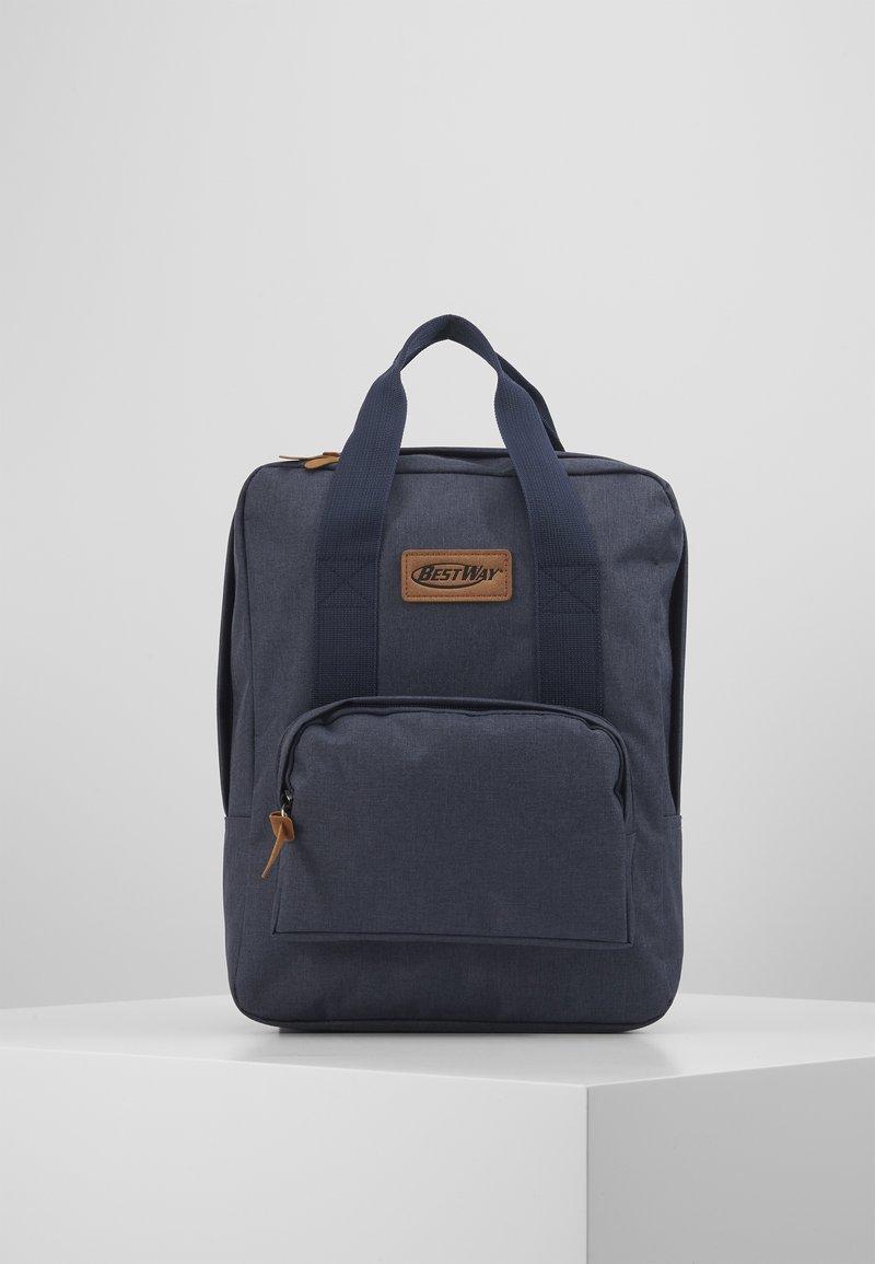 Fabrizio - BEST WAY BACKPACK - School bag - navy blue