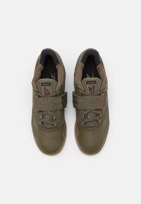Reebok - LEGACY LIFTER II - Sports shoes - army green green/core black - 3