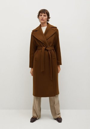 PAINT - Classic coat - marron
