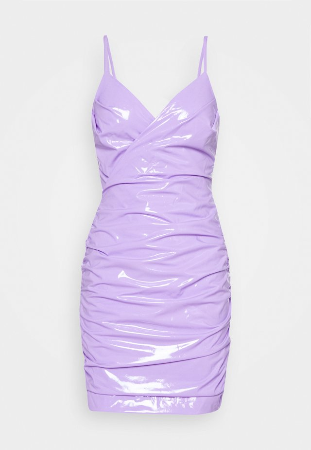 CYNDI DRESS - Cocktail dress / Party dress - purple
