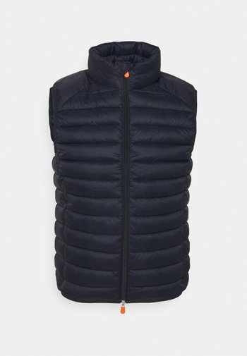 ADAM - Waistcoat - blue black