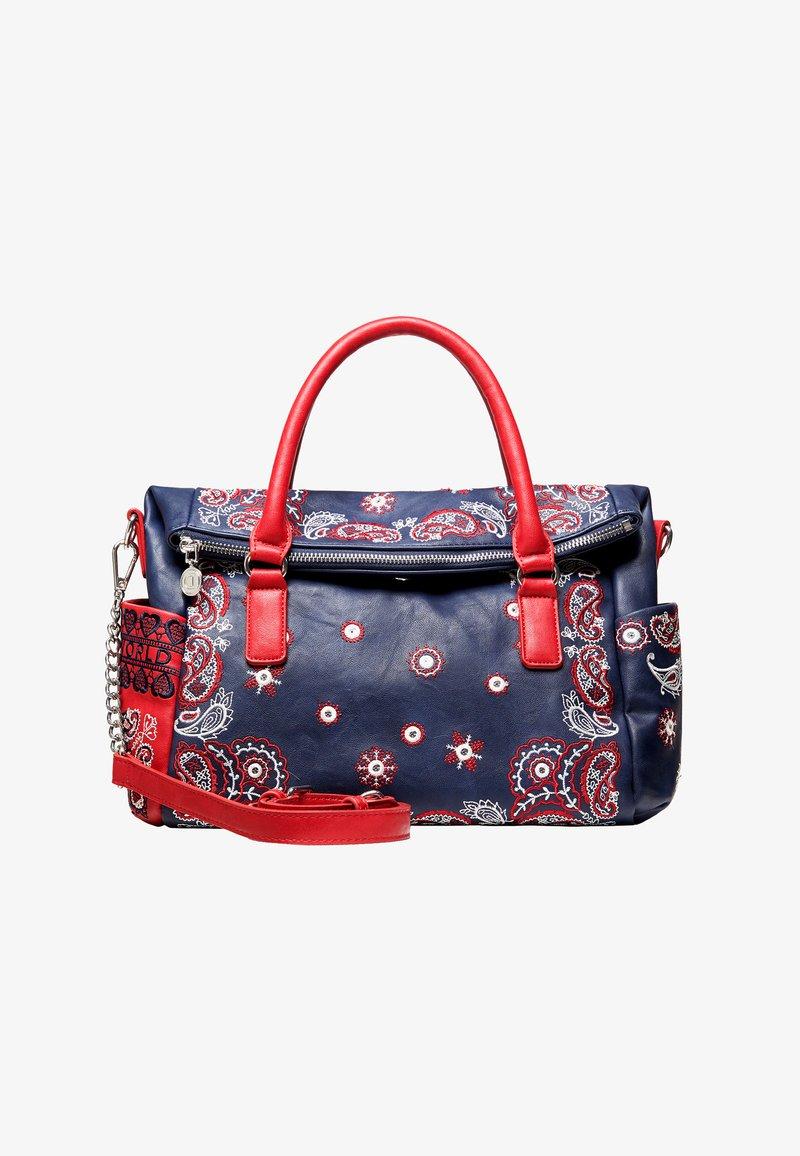 Desigual - EXPLOSIVE LOVERTY - Handbag - blue