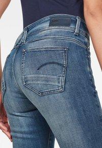 G-Star - LYNN MID SKINNY - Jeans Skinny Fit - antic blue - 3