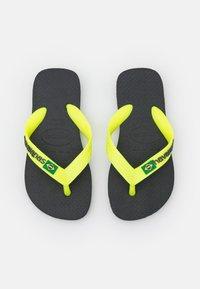 Havaianas - BRASIL LOGO - Pool shoes - new graphite - 0