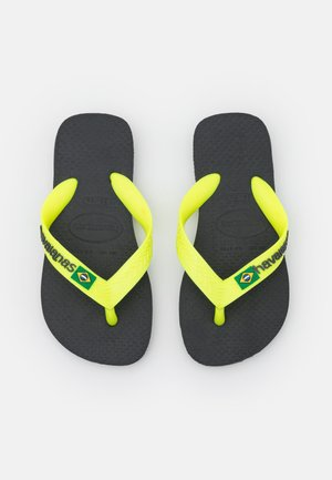 BRASIL LOGO UNISEX - Teenslippers - new graphite