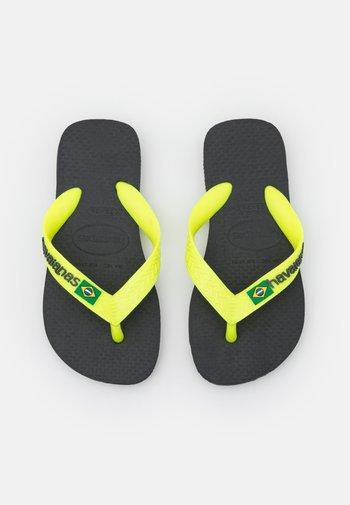BRASIL LOGO - Pool shoes - new graphite