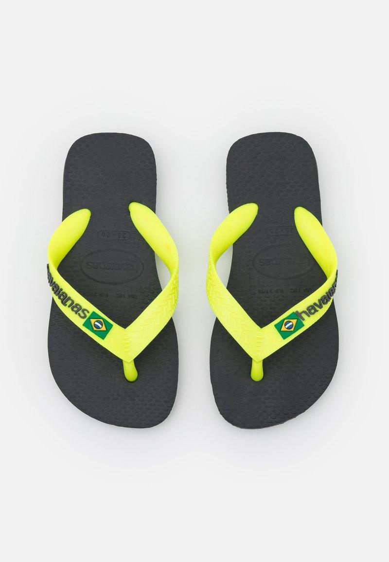 Havaianas - BRASIL LOGO - Pool shoes - new graphite