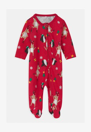 NBFRAINDINE UNISEX - Sleep suit - jester red