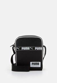 Puma - CAMPUS PORTABLE - Taška spříčným popruhem - black - 0