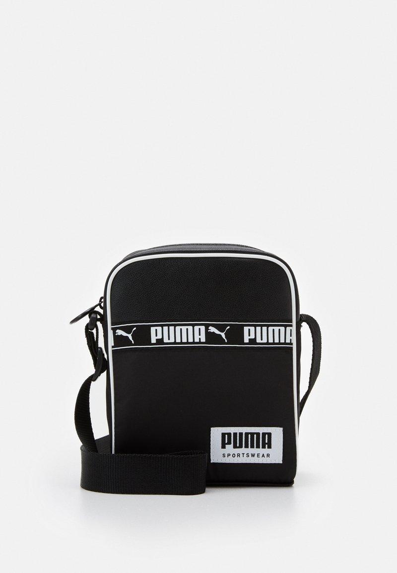 Puma - CAMPUS PORTABLE - Taška spříčným popruhem - black