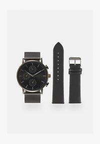 Pier One - Klokke - gunmetal/black - 0