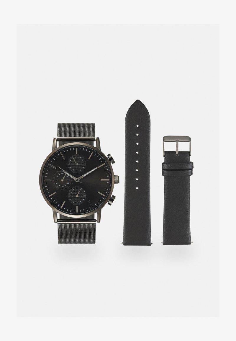 Pier One - Klokke - gunmetal/black