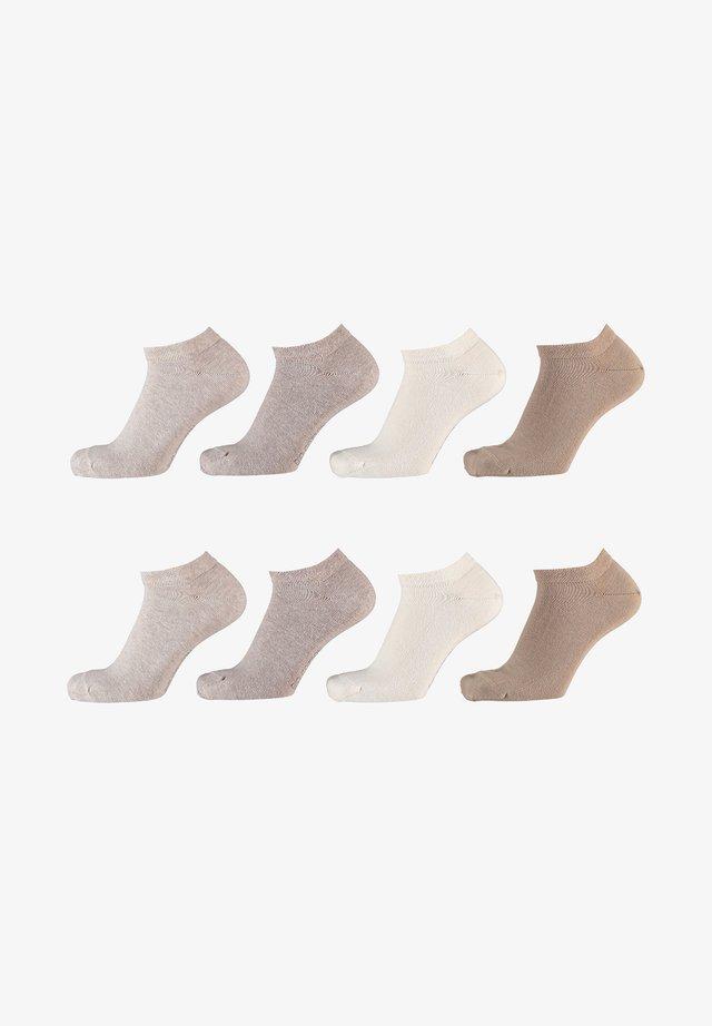 8 Pack - Sokken - multi beige