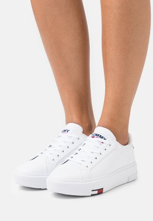 FASHION CUPSOLE - Matalavartiset tennarit - white