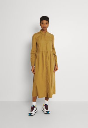 BYGAMZE DRESS LONG - Day dress - dried tobacco
