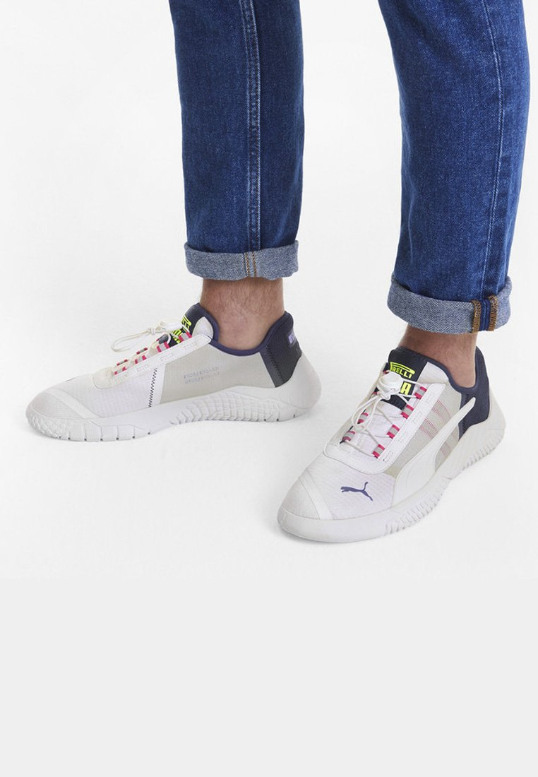 Puma - Trainers - white-peacoat-limepunch