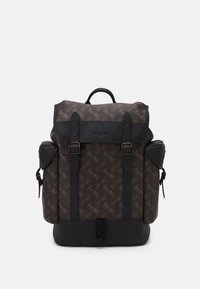 Coach - HITCH BACKPACK HORSE AND CARRIAGE PRINT UNSEX - Rucksack - truffle - 1