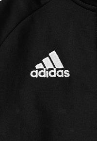 adidas Performance - CORE 18 FOOTBALL TRACKSUIT JACKET - Chaqueta de entrenamiento - black/white - 3
